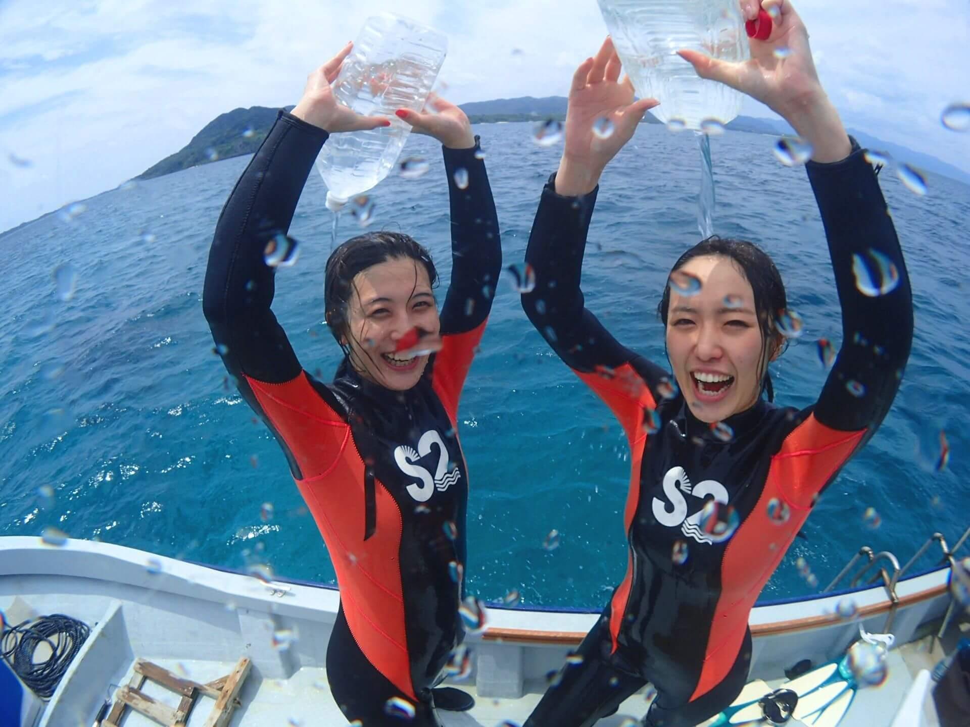 石垣島体験ダイビング撮影